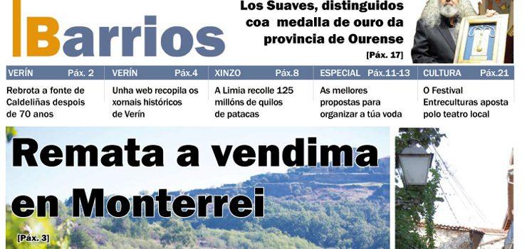 Publicado o número de outubro do Barrios