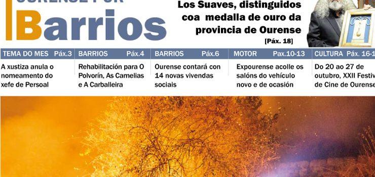 Publicado o número de outubro de Ourense por Barrios