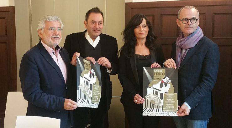 O Ciclo Lírico traerá a Ourense as mellores figuras internacionais da ópera e a zarzuela