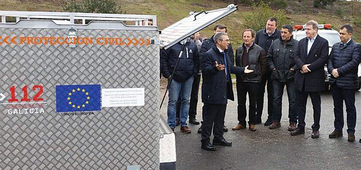 Equipamentos de emerxencia para concellos da provincia