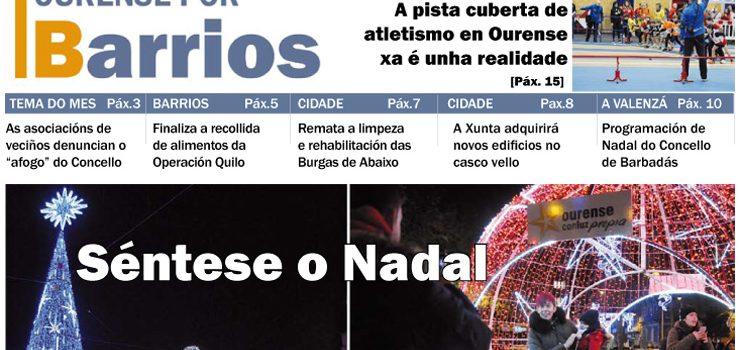 Ourense por Barrios decembro