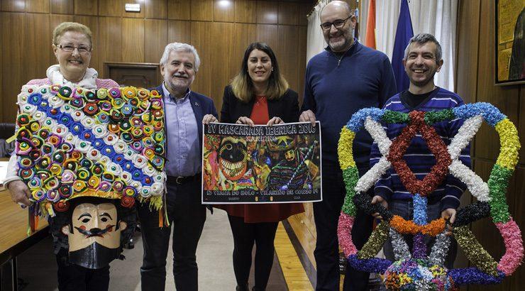 A IV Mascarada Ibérica reúne en Vilariño de Conso e Viana aos mellores entroidos etnográficos