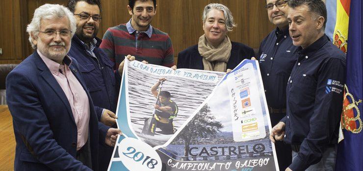 Castrelo de Miño acolle o Campionato de Galicia de Piragüismo
