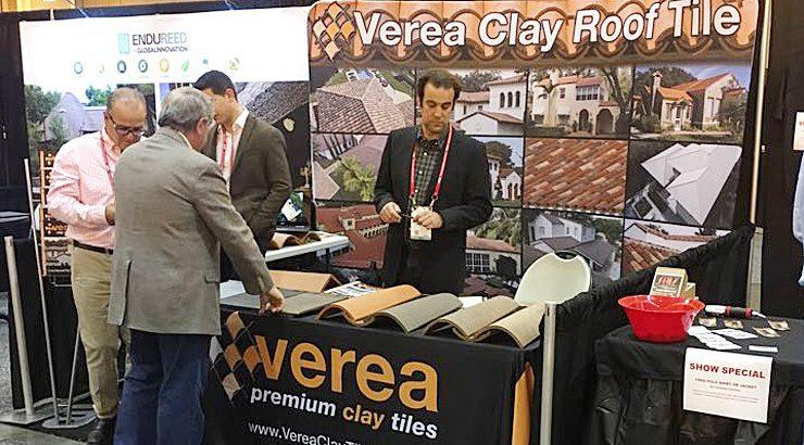 Verea presentó en la International Roofing Expo en EE.UU. las tejas `S´ y `Caribbean S´