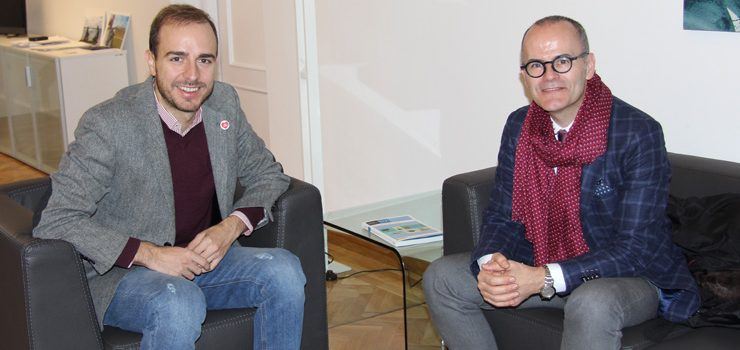 O Concello de Ourense e o Instituto de la Juventud de España promoverán accións conxuntas en favor da mocidade ourensá
