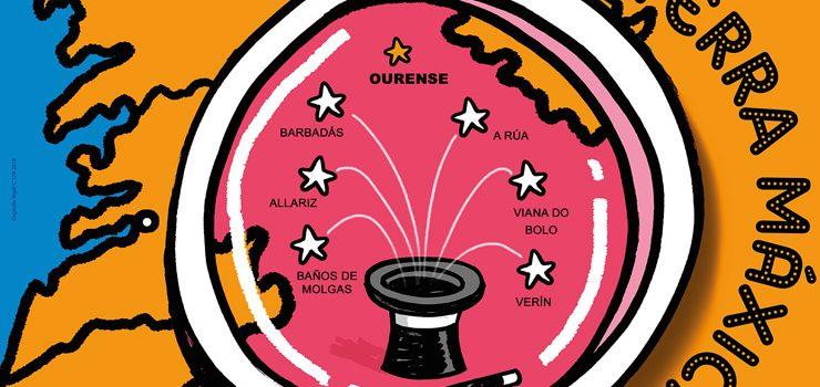 O Festival de maxia regresa a Ourense