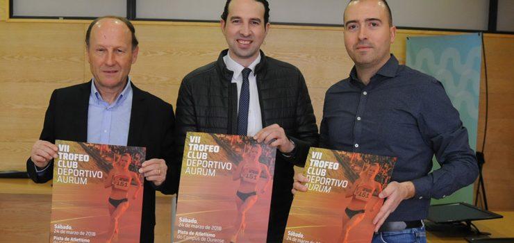 El Trofeo Aurum congrega en Ourense a los velocistas gallegos
