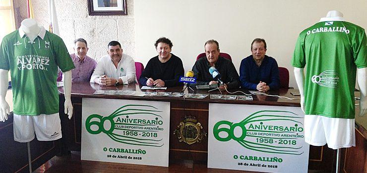 60 anos de CD Arenteiro