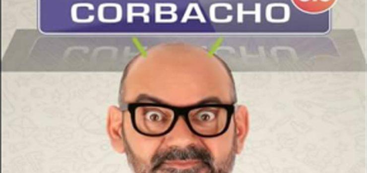 """O humorista José Corbacho chega ao Carballiño co seu monólogo """"Corbacho 5.0"""""""
