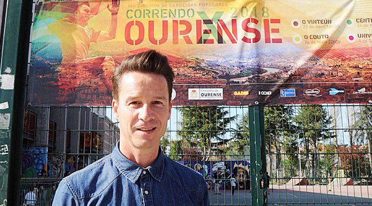 """Entrevista a Roberto Abad, coordinado do circuíto de carreiras populares """"Correndo por Ourense"""""""