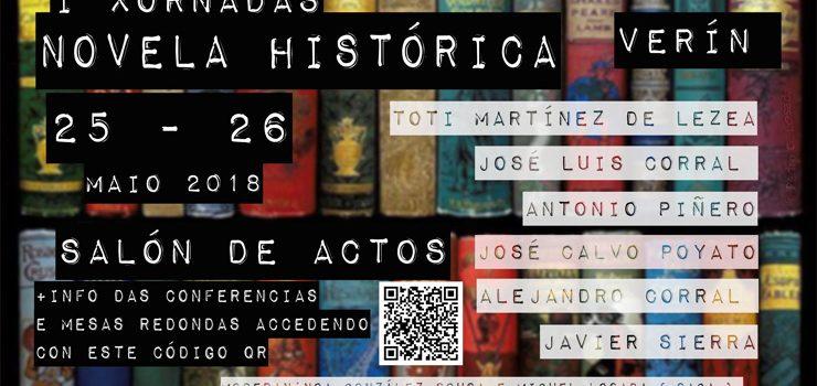 As Xornadas de Novela Histórica de Verín contarán con Javier Sierra