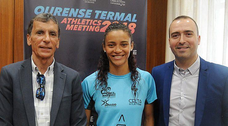 Gran cartel no Ourense Termal Athletics Meeting
