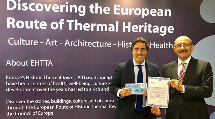 Termatalia se presenta al Ministerio de Turismo de Azerbaiyán