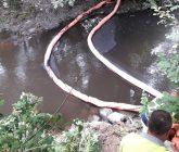 La CHMS investiga el vertido en el río Barbaña