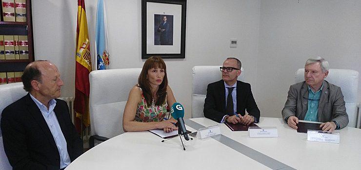 Xunta e Expourense asinan un convenio para a xestión da pista de atletismo