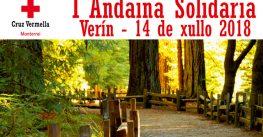 A Cruz Vermella Monterrei organiza súa I Andaina Solidaria en Verín.