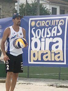 Escalona y Tovar repiten triunfo en el Sousas voley playa
