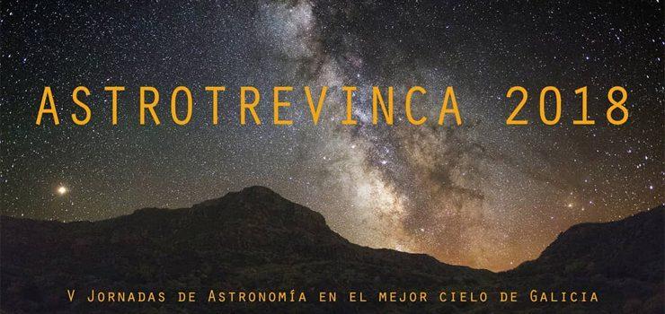"""Chegan as quintas xornadas de """"AstroTrevinca 2018"""""""