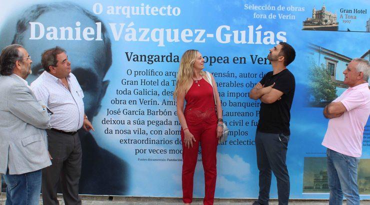 Verín e a Fundación Vázquez-Gulías divulgarán e investigarán a obra do arquitecto
