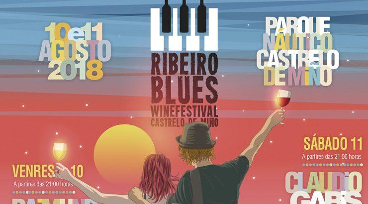 Música, viño e gastronomía, na 5ª edición do Ribeiro Blues Wine Festival