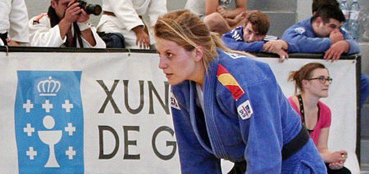 Ana Fernández Morais, única representación ourensana en la Liga de judo
