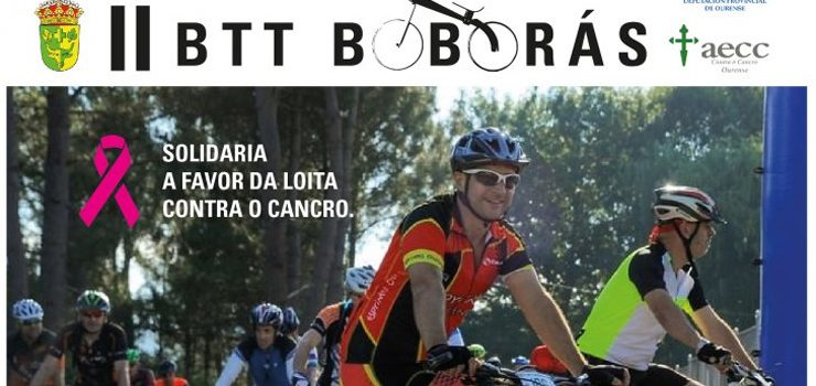 II BTT de Boborás aúna deporte e solidariedade
