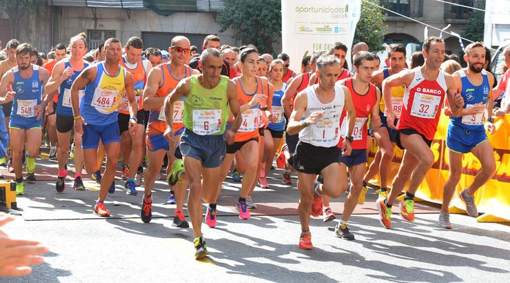 "O ""Correndo por Ourense"" cambia de hora na Ponte"