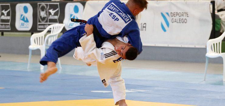 A Liga de judo comezou en Oira