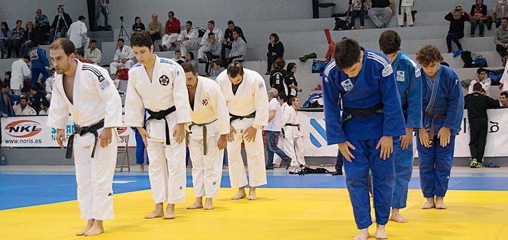 Oira acoge la 16ª Liga de Judo