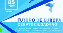 Verín falará de Europa coas institucións europeas, en dous debates de ti a ti
