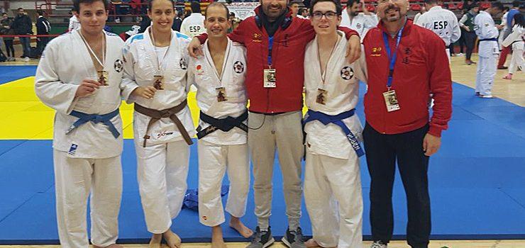 Seis ourensanos en la IV Copa de España de Jiu Jitsu