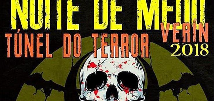 """Verín converte o seu casco vello nun """"Túnel do Terror"""" para celebrar o Samaín"""