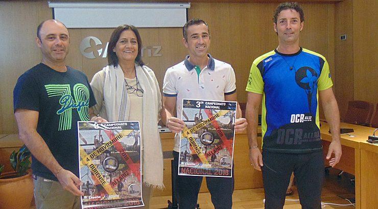 Allariz acolle o terceiro campionato nacional da carreira de obstáculos OCR