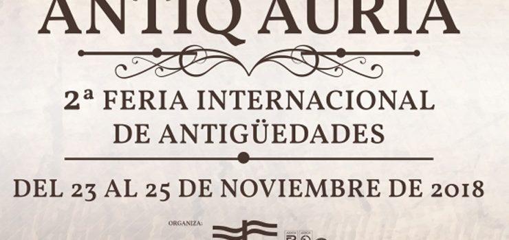 A II Antiq Auria conta con expositores de catro países