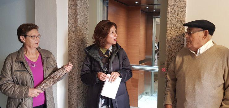 16 edificios da provincia contan con ascensor co apoio da Xunta