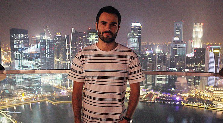 """""""Para min ser bolseiro en Singapur foi un punto de inflexión na miña carreira profesional"""""""