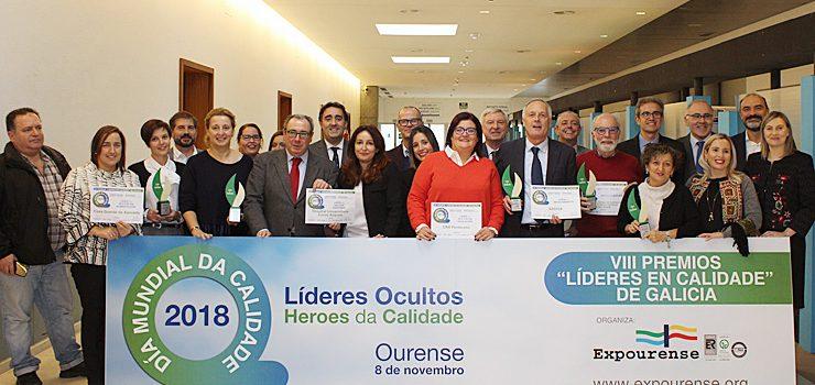 """Expourense entrega os VIII Premios """"Líderes en Calidade"""""""