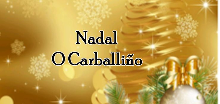 Programación de Nadal en Carballiño