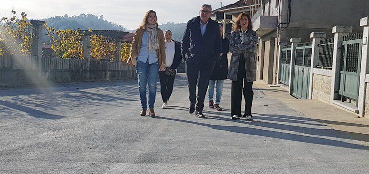 A Xunta acondiciona a rúa Prado de Leiro