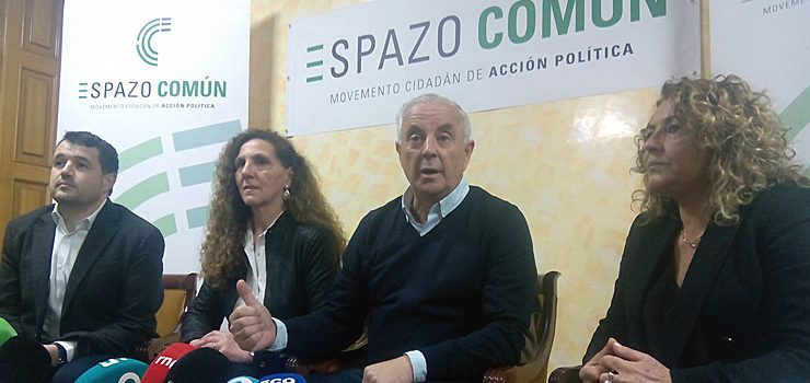 Espazo Común, a nova formación encabezada por Pachi Vázquez