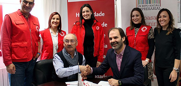 Colaboración entre Viaqua y Cruz Roja