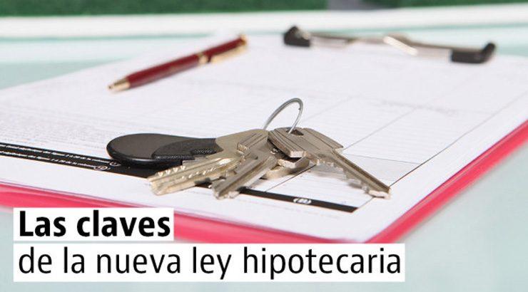 5 medidas clave de la nueva ley hipotecaria