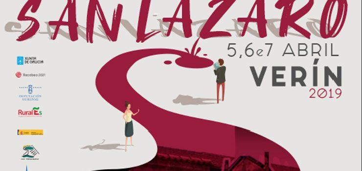 Coñece o programa do Lázaro 2019 de Verín