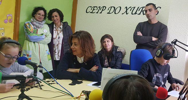 Radio na Biblio en cinco colexios da provincia