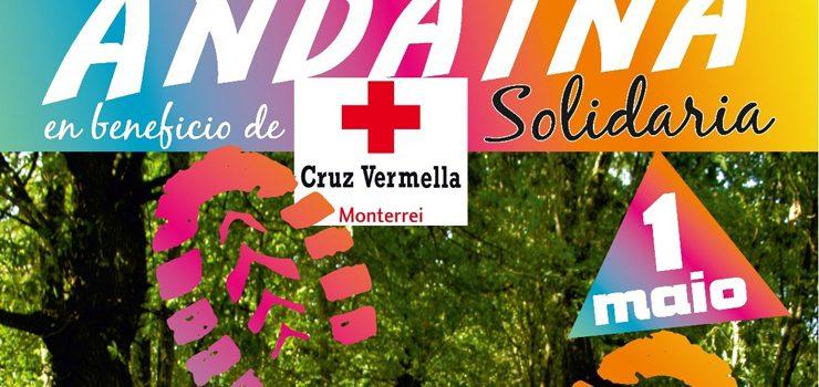 Andaina Solidaria en favor de Cruz Vermella Monterrei