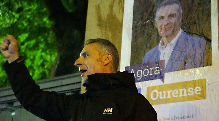 Pontón: «Imos entrar con forza no Concello de Ourense»