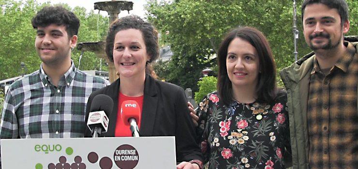 Anova e Equo apoian a candidatura de Ourense en Común
