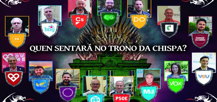 Entrevista aos candidatos para a alcaldía de Ourense