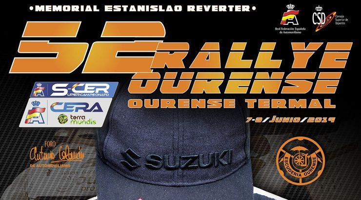 Inscrición récord no 52º Rali de Ourense
