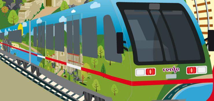 Sete rutas do Tren Turístico de Galicia pasan pola provincia de Ourense
